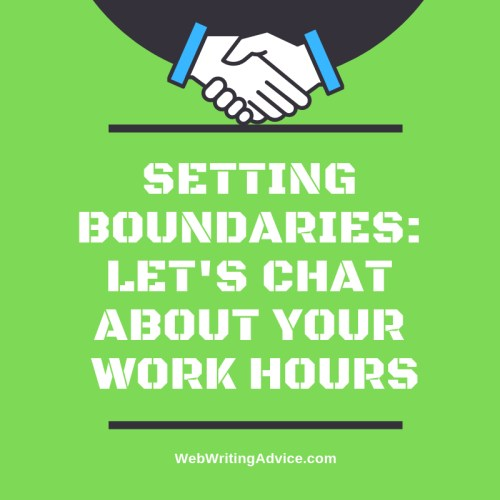 Setting Boundaries: Let's Chat About Your Work Hours