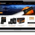 portfolio custom manufacturing website design