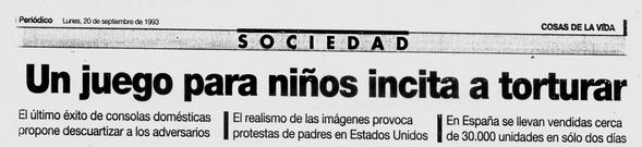 Diario de un ex-empleado de Sega España: Masacre y Aniquilación