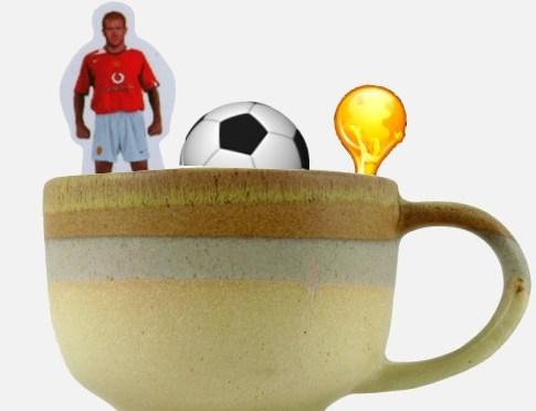 Fútbol hasta en la sopa