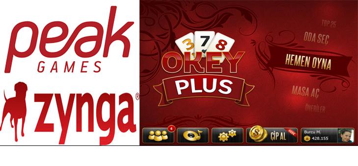 Peak Games Okey Plus Oyununu Zynga' ya sattı