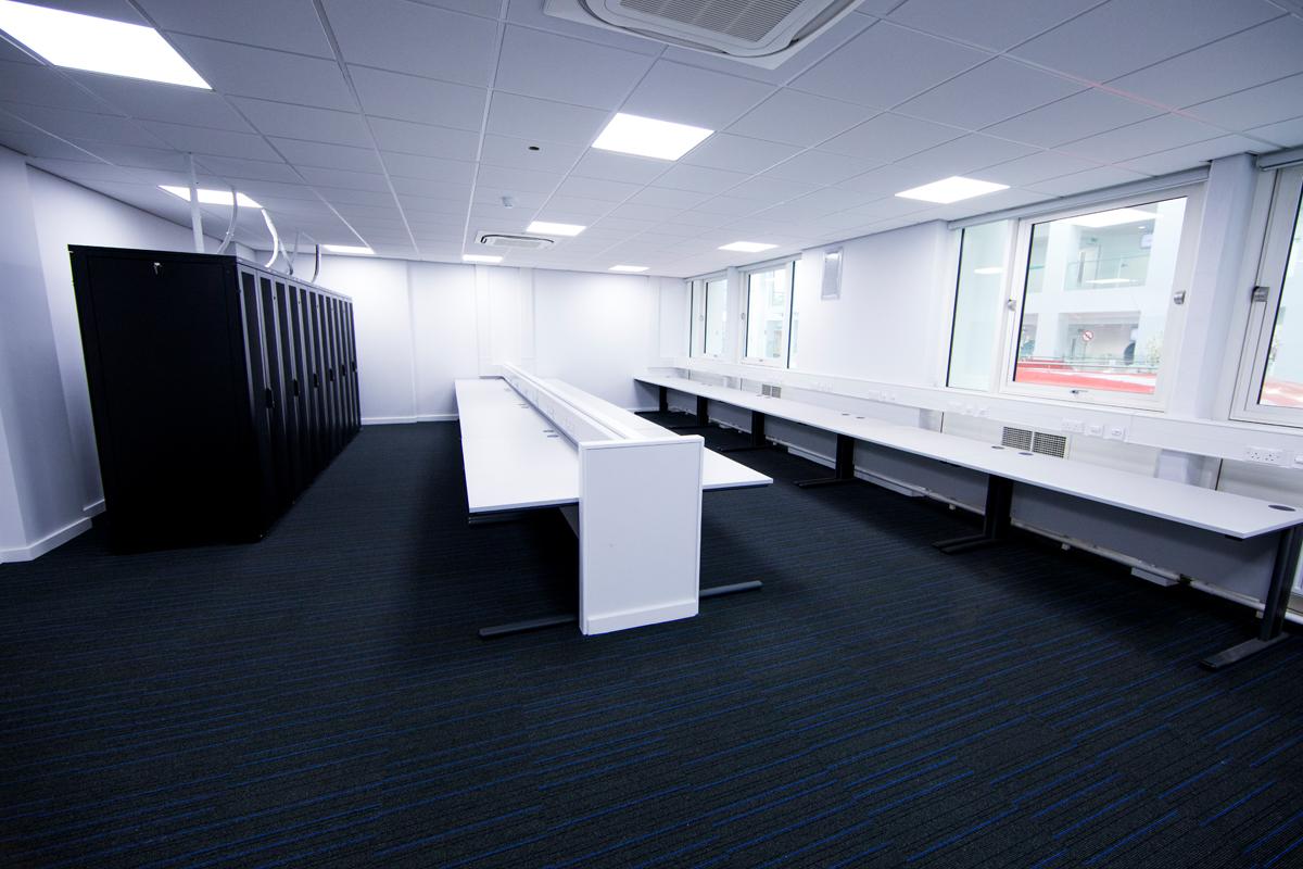 Alteration and refurbishment to Floors 3 & 4 of Sir John Everett Millais Building