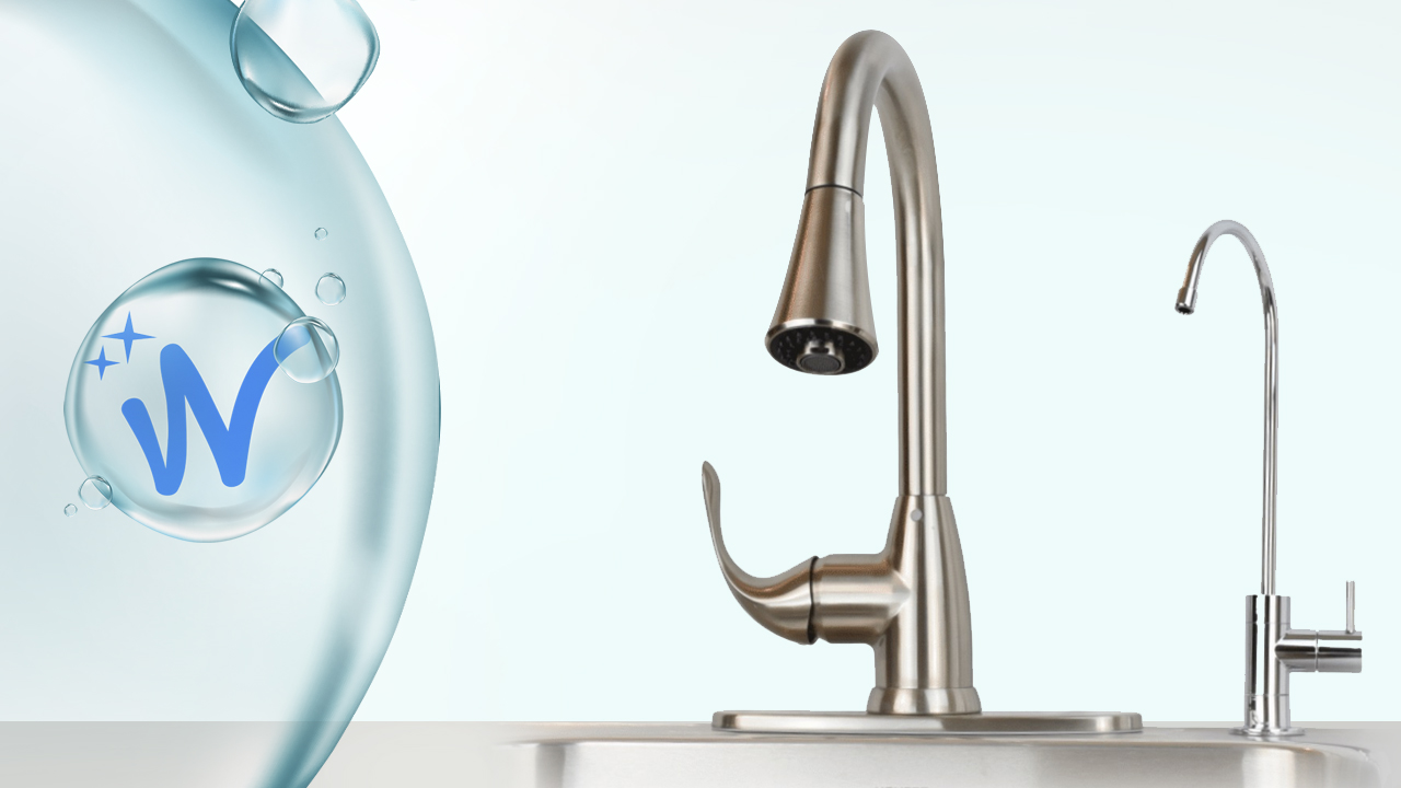 installing a ro drinking water faucet