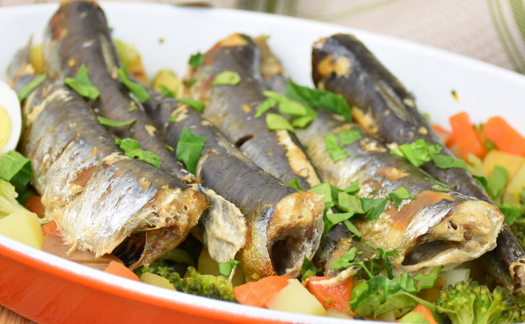 Poached Sardine Surprise