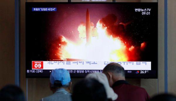 S. Korea says N. Korea has fired more projectiles into sea