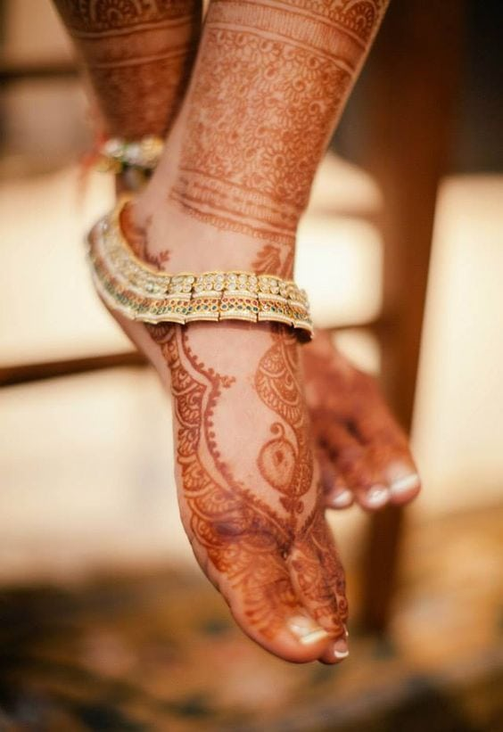 anklets for your wedding
