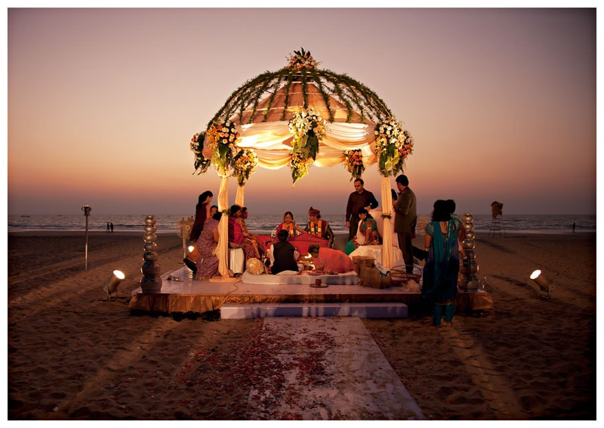 Perfect destination wedding in India