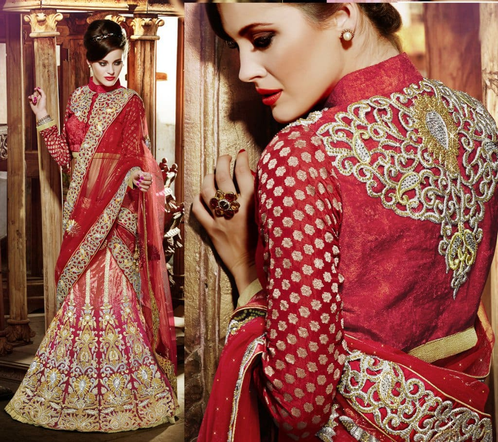 Top blouse designs for lehenga choli