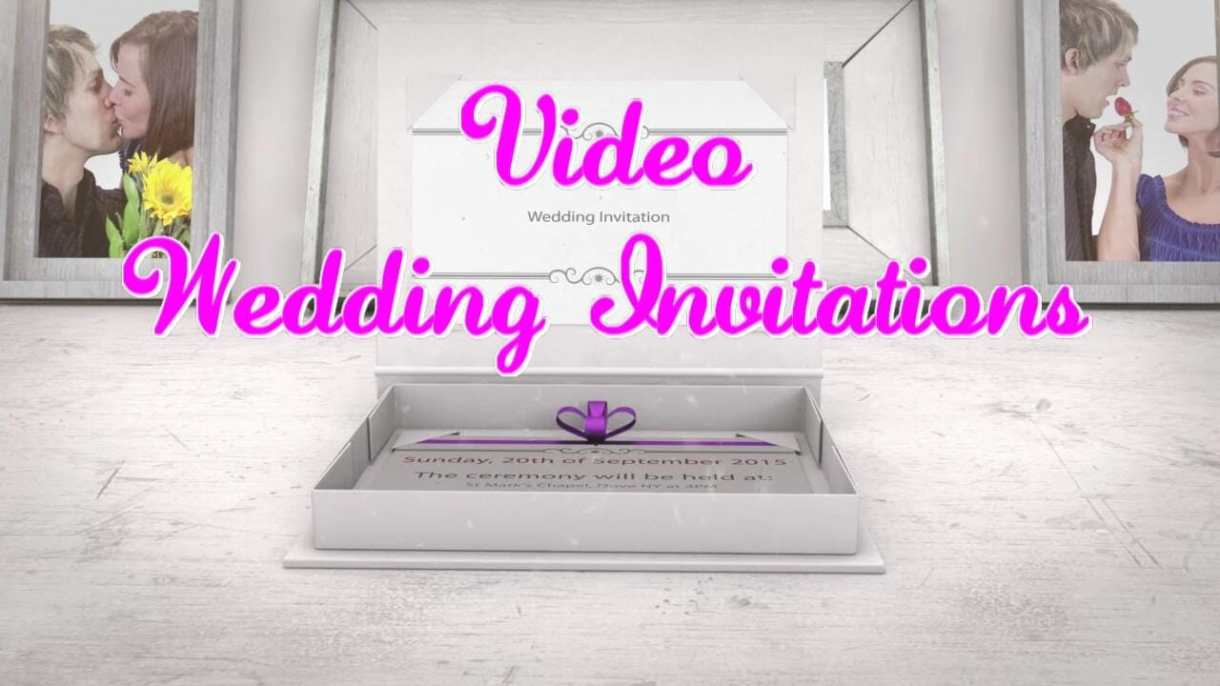 Video wedding invitations making new trends in wedding industry video wedding invitations stopboris Choice Image