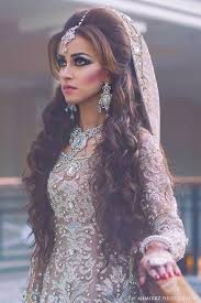 weddings in open hairstyles