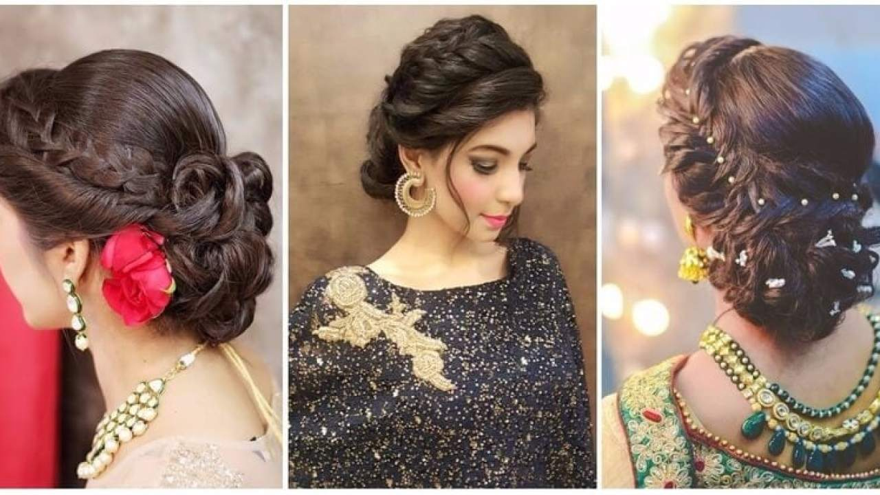 8 best hairstyles for lehenga choli - wedamor