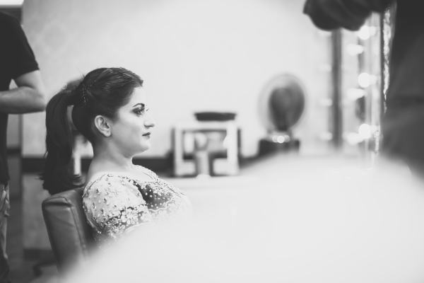 Bridal Makeup candid