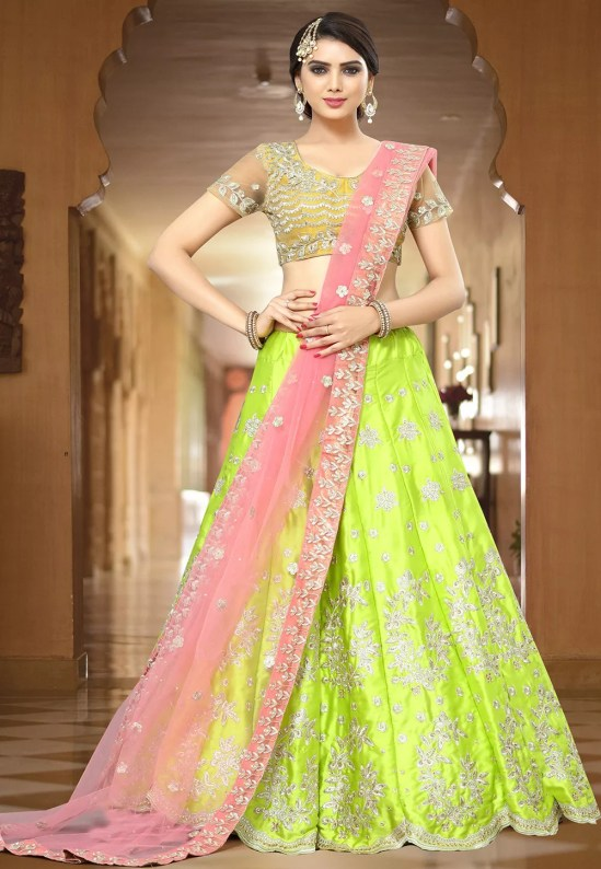 Lehenga Color Combination
