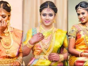 brides who wore yellow