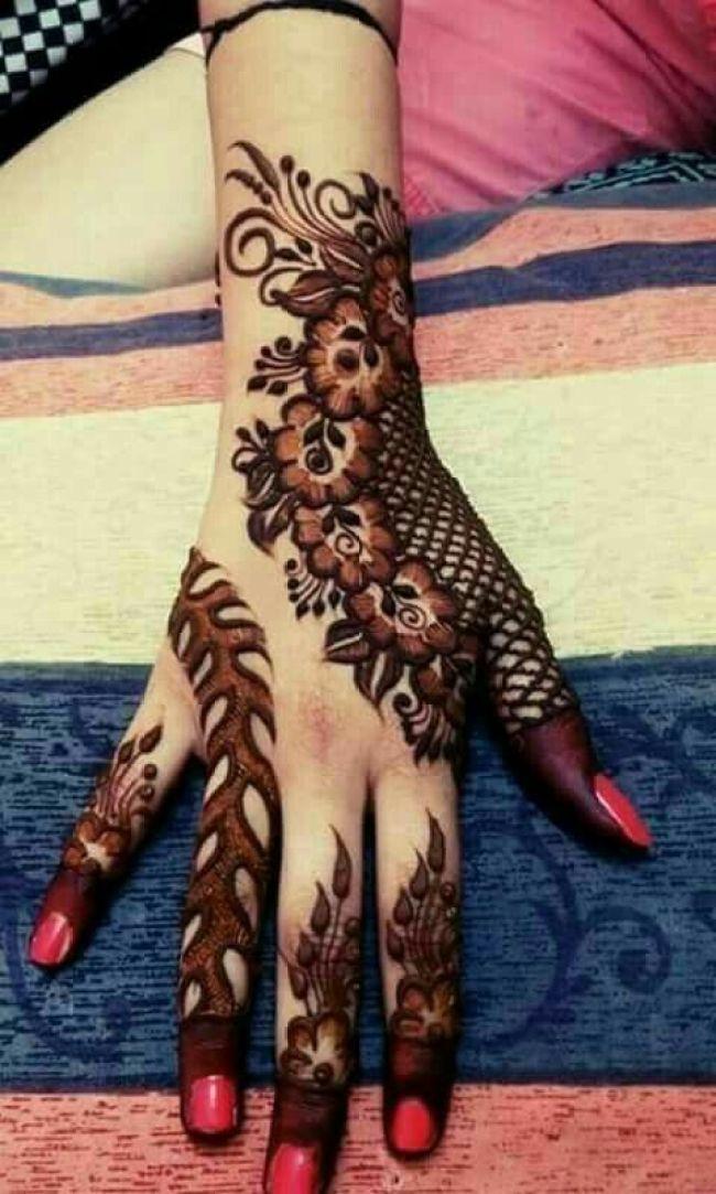 30 Stylish And Modern Arabic Mehndi Designs To Inspire You Wedandbeyond
