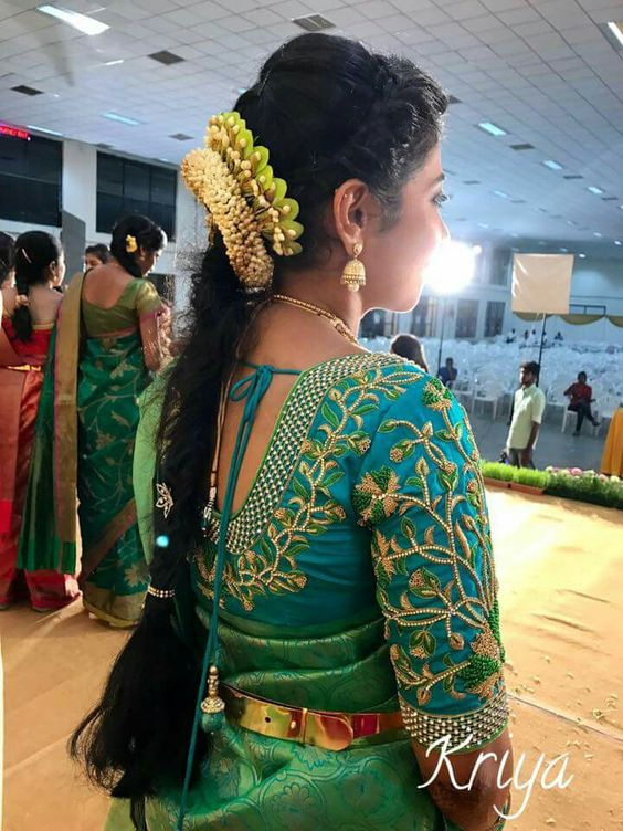 55 Latest Maggam Work Blouse Designs That Will Inspire You