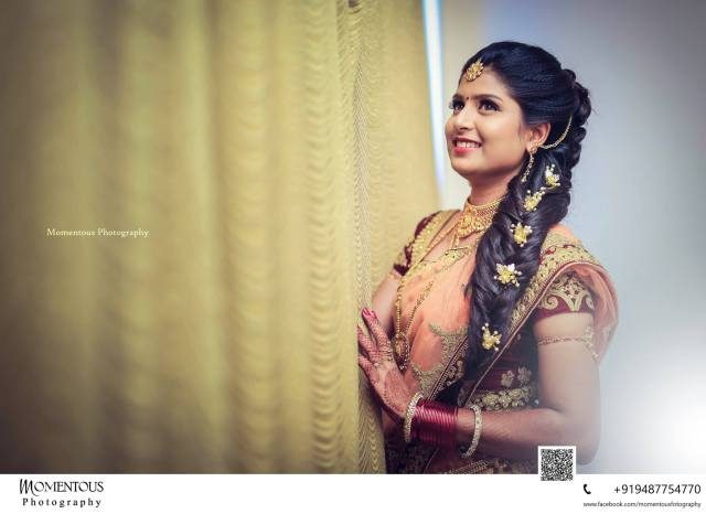 bridal hairstyle for reception | indian bridal hairstyle