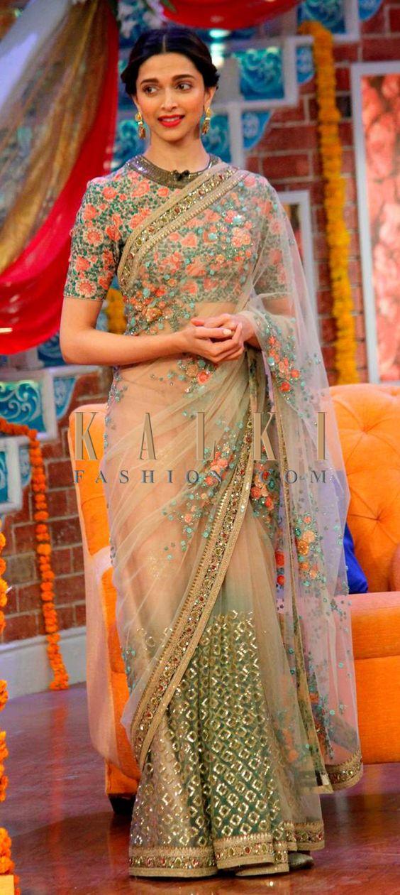 Floral Designer Saree Photo Gallery