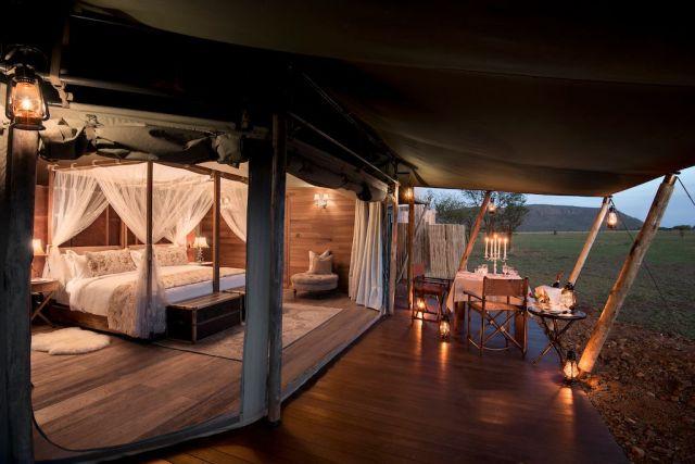 Chambre Tente Afrique