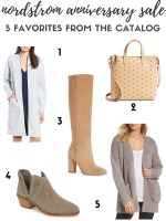 5 Favorites from the Nordstrom Anniversary Sale Catalog