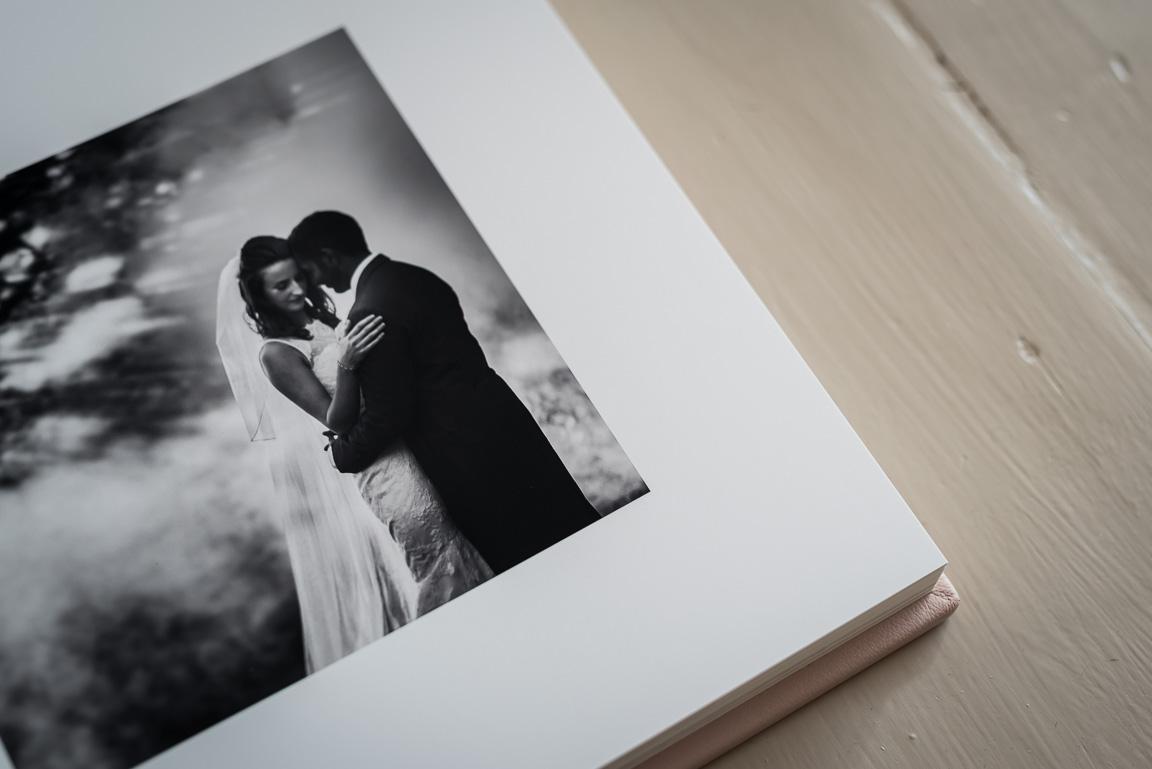 Folio wedding album page detail