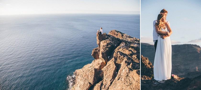 Felsenküste von La Gomera auf den Kanaren