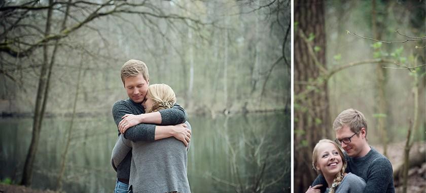 Ganz in Weise, Verlobungsshoot, Gemütlich im Wald