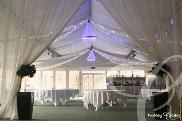 Venue Dressing At Braxted Park Wedding Creative