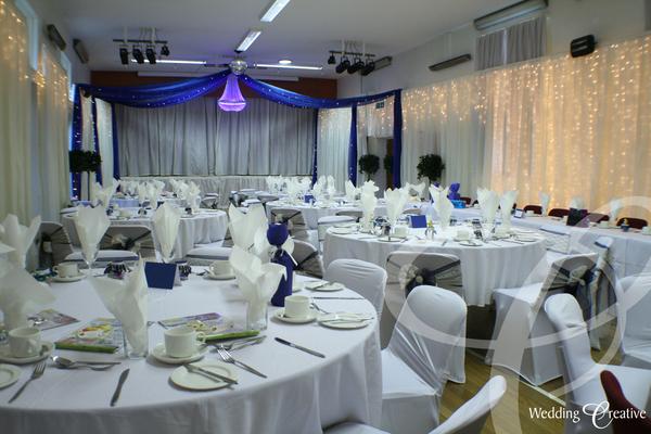 Venue Dressing At Great Barton Village Hall Wedding Creative