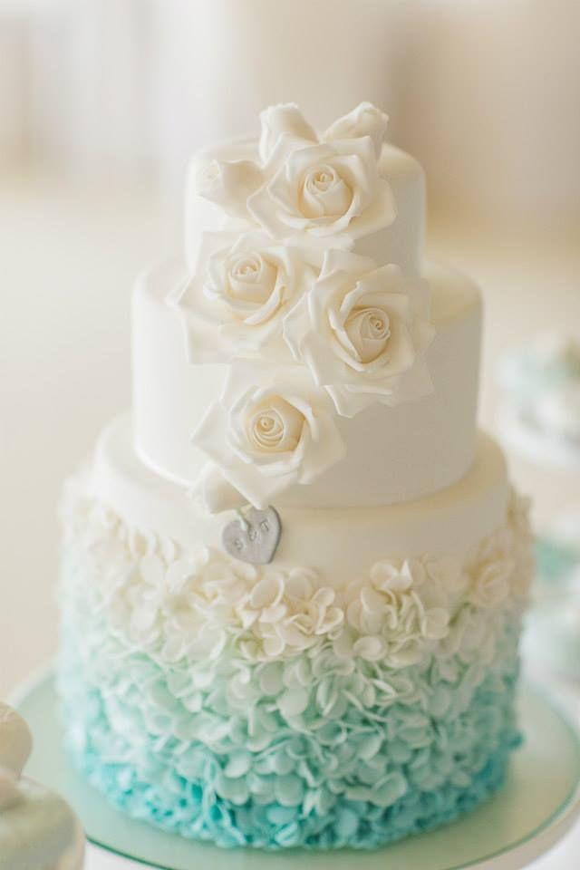 25 Elegant Tiffany Blue Wedding Cake Ideas Wedding
