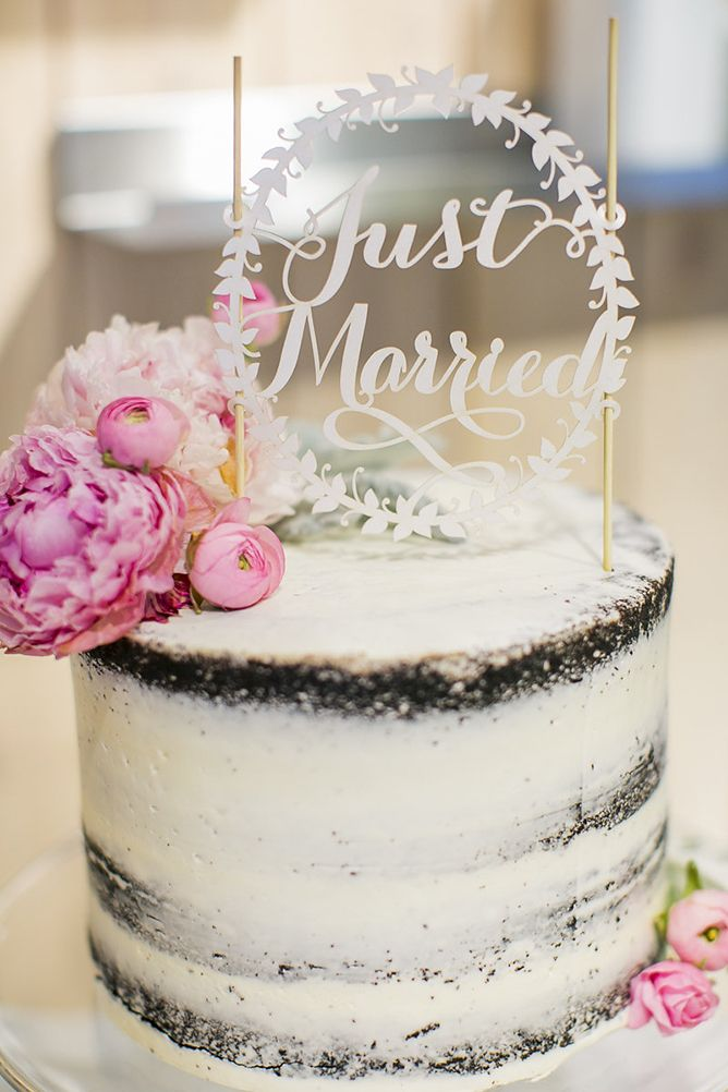 37 Delicious Semi Naked Wedding Cakes Wedding