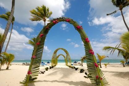 Image Of Beach Wedding Ceremony Decorations
