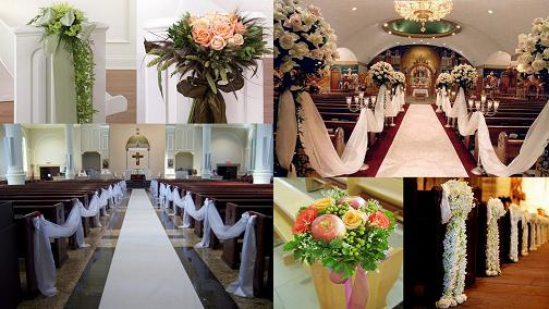 Wedding Pew Decoration What A Combo
