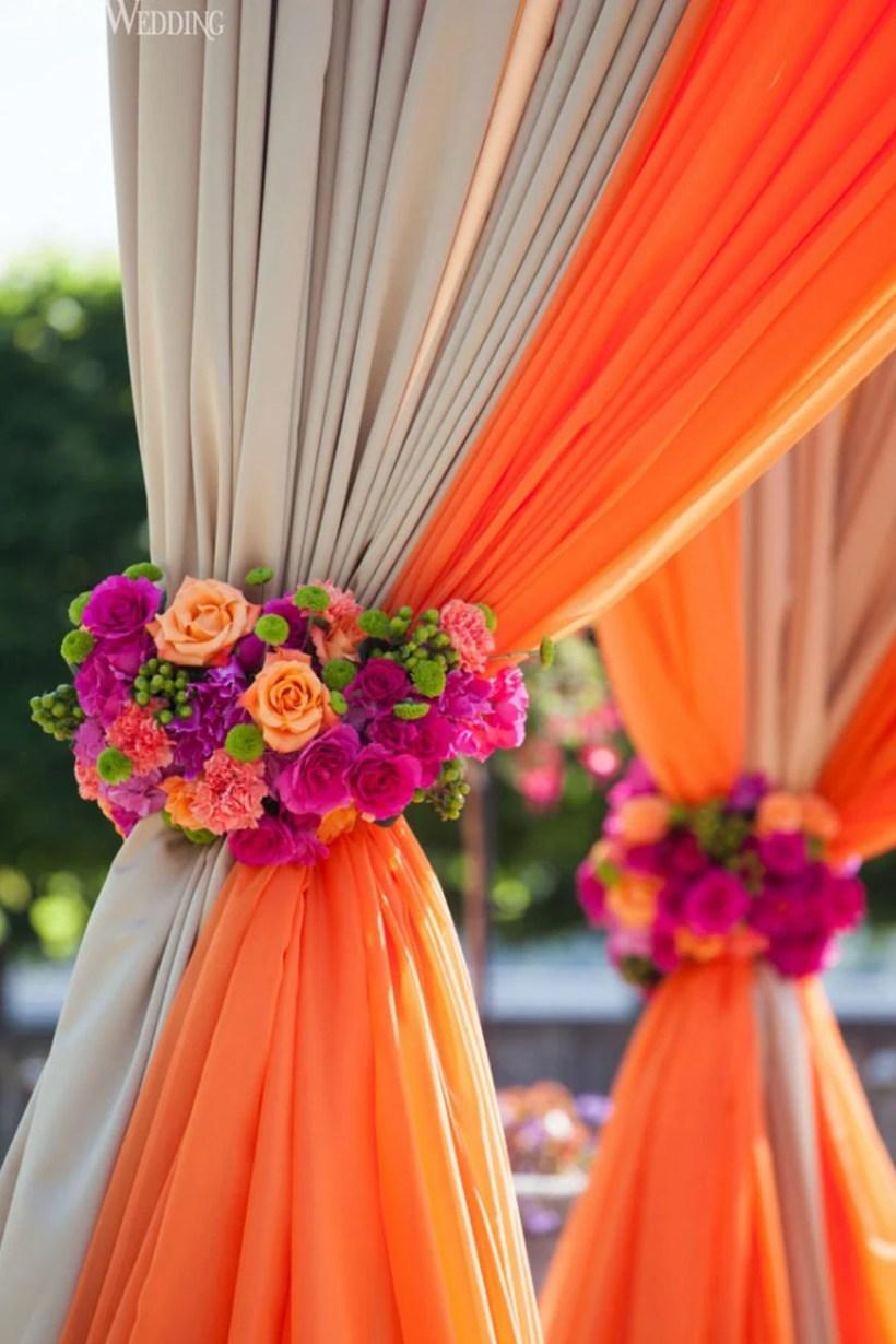 Pink And Orange Wedding Theme Deweddingjpg