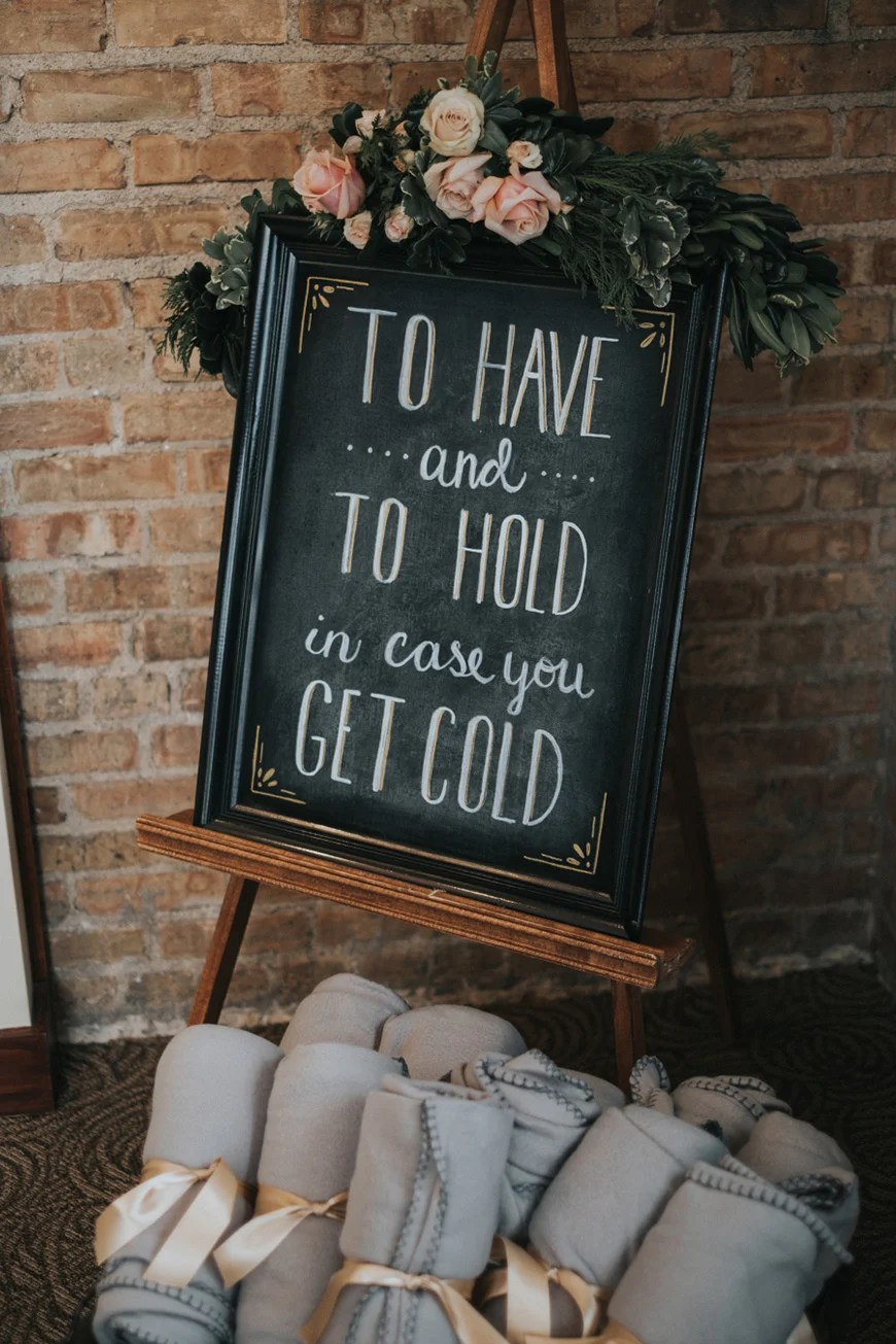 how to throw the best winter wedding finishing touches chwv