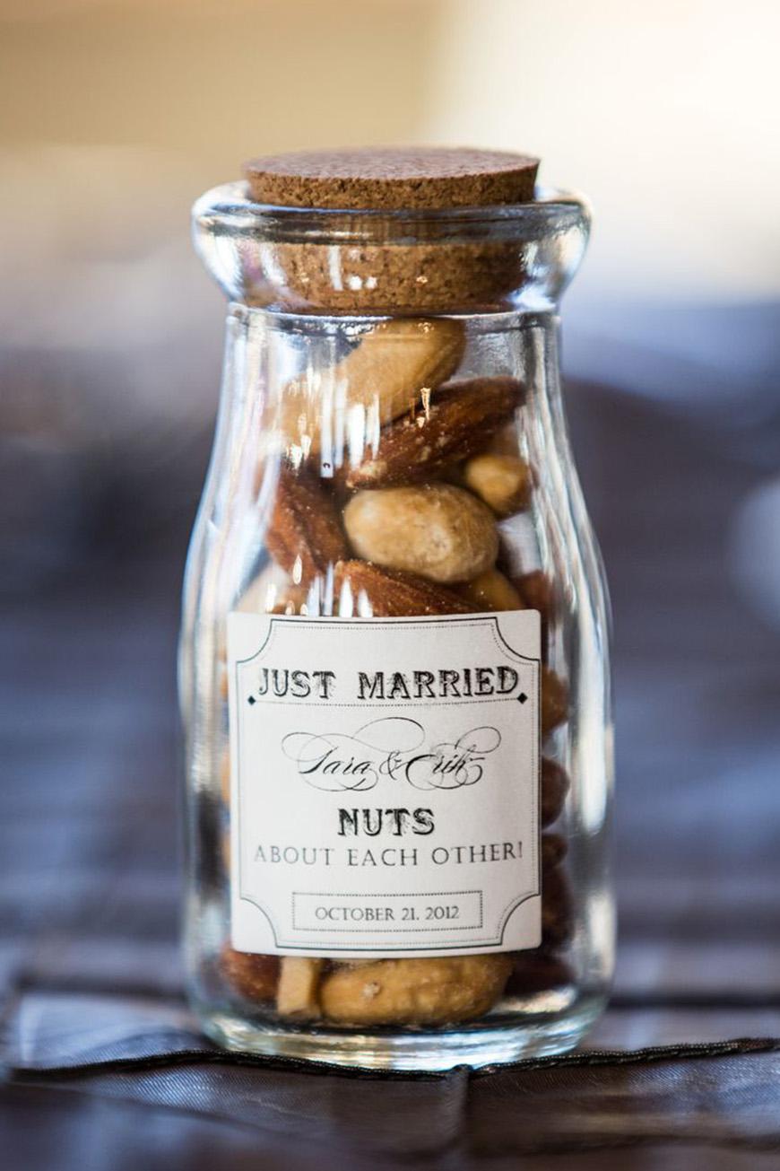 Autumn Wedding Favours Ideas