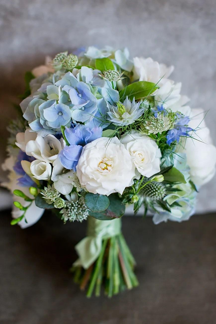 Polar white / phantom black; Pastel Blue Wedding Theme | Wedding Ideas By Colour | CHWV