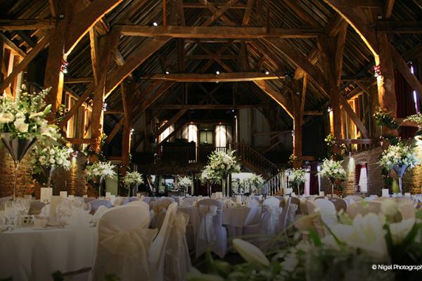 Barn Wedding Venue In Kent Cooling Castle Barn CHWV