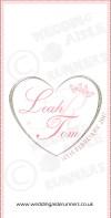 Leah & Tom wedding aisle runner