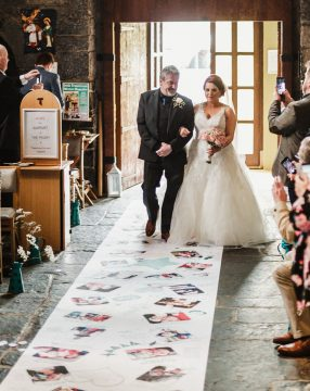 Angela Sheerin reviews her wedding aisle runner