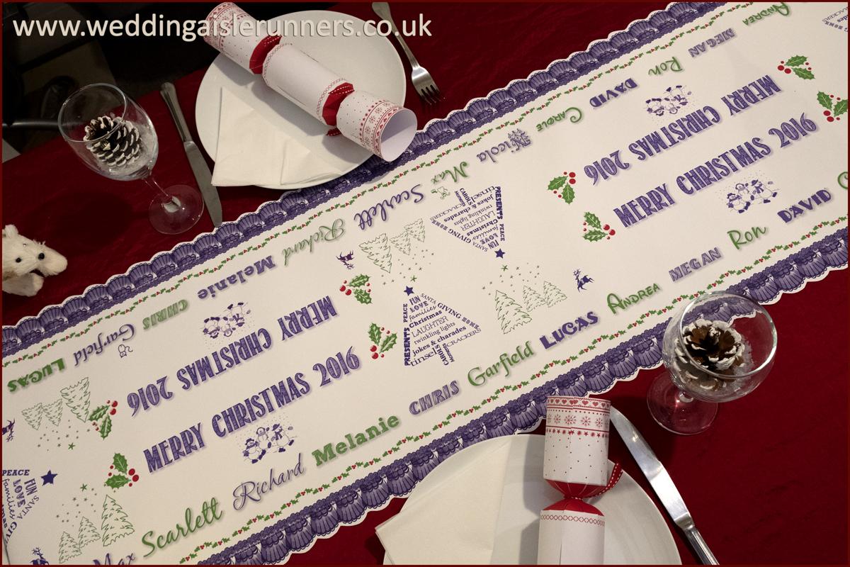 Design-2-Christmas table Runner