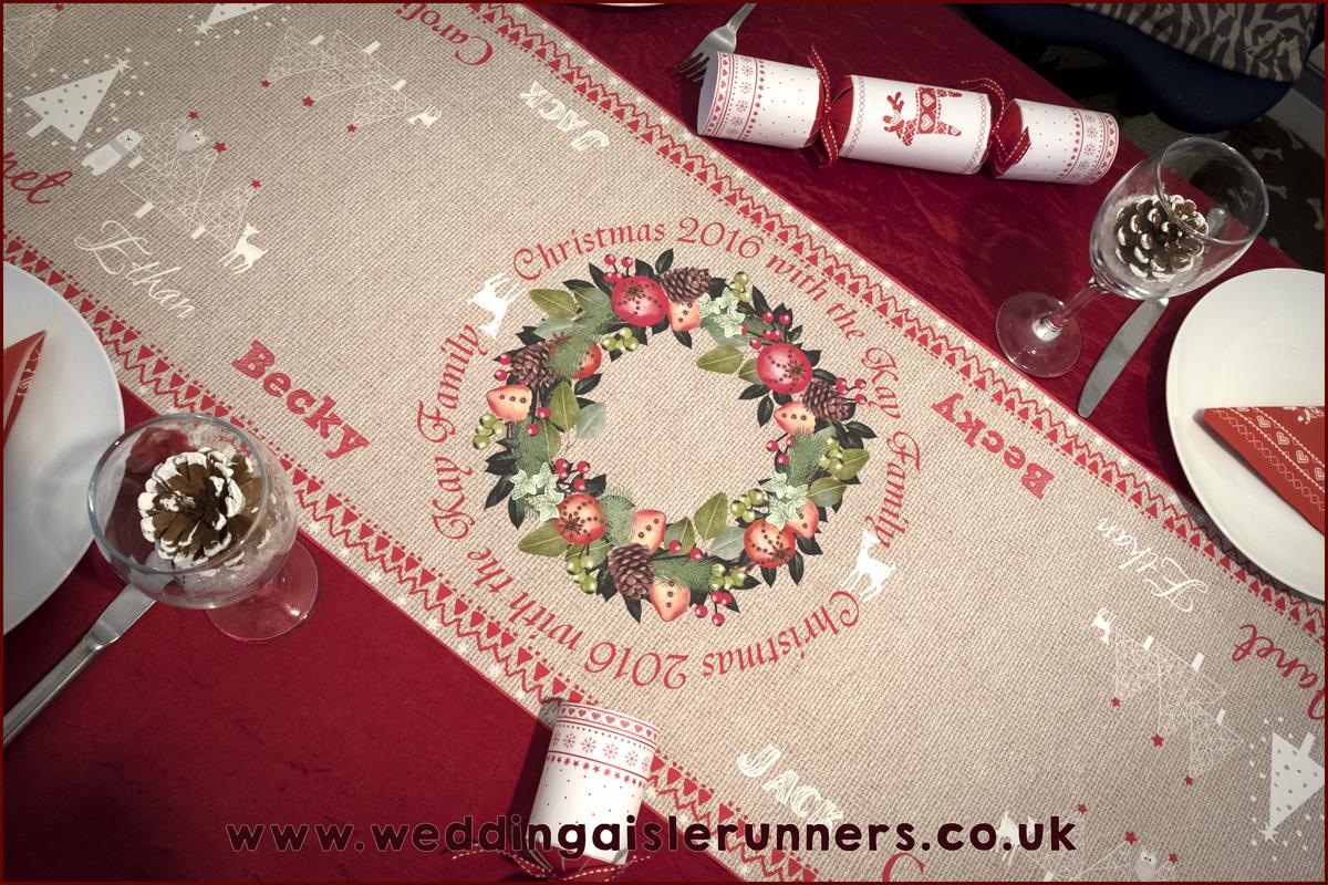 Design-3 Christmas Table Runner