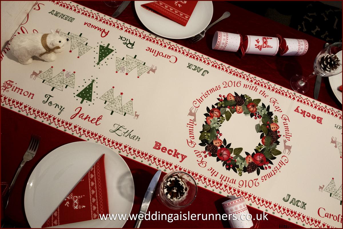 Design-4 Christmas Table Runner