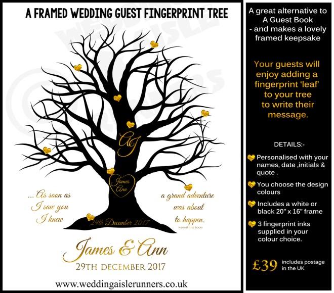 Fingerprint Tree -Alternative guest book