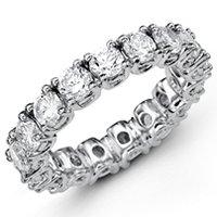 53306PP Diamond Eternity Band Platinum