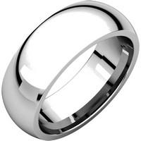 X123821PP Platinum 6mm Comfort Fit Wedding Band