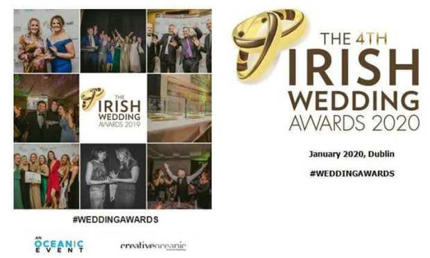 Irish Wedding awards finalist 2020