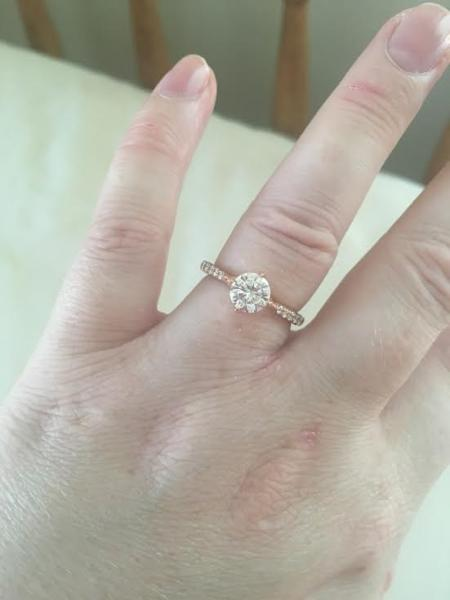 Real E Rings Moissanite Engagement Rings Weddingbee