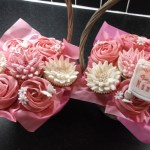 Cupcake Basket Bouquet Made By Wedding Cakes By Sharon