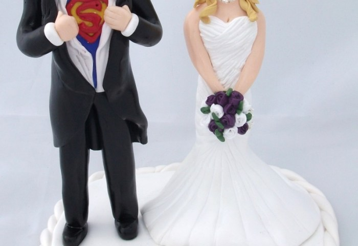 Personalised Handcrafted Wedding Cake Topper